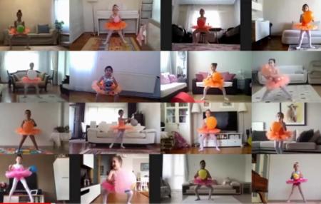 Coronavirus nedeniyle evde kaldıkları dönemde online derslere giren öğrencilerimizle Zoom'da hazırladığımız Fındıkkıran Balesi performansı YouTube'da beğeninize sunulmuştur.